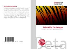 Bookcover of Scientific Technique
