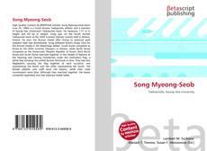Capa do livro de Song Myeong-Seob