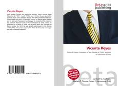 Bookcover of Vicente Reyes