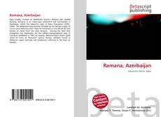Capa do livro de Ramana, Azerbaijan