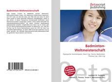 Bookcover of Badminton-Weltmeisterschaft
