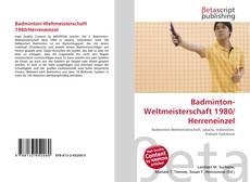 Bookcover of Badminton-Weltmeisterschaft 1980/Herreneinzel