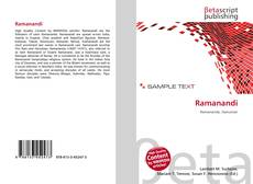 Bookcover of Ramanandi