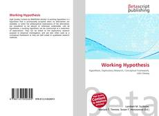 Bookcover of Working Hypothesis
