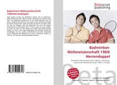 Bookcover of Badminton-Weltmeisterschaft 1989/Herrendoppel