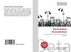 Ramanathan Gnanadesikan kitap kapağı