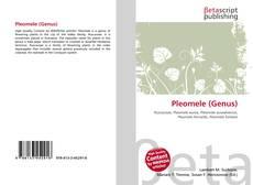 Capa do livro de Pleomele (Genus)
