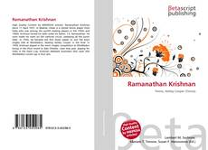 Bookcover of Ramanathan Krishnan