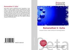 Ramanathan V. Guha kitap kapağı