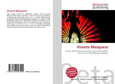 Portada del libro de Vicente Mosquera