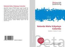 Обложка Nalanda Maha Vidyalaya Colombo
