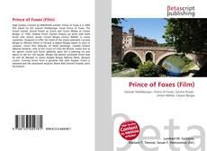 Portada del libro de Prince of Foxes (Film)