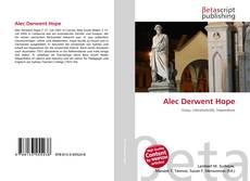 Bookcover of Alec Derwent Hope