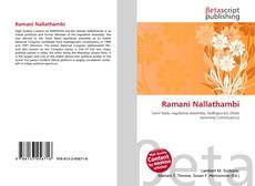 Bookcover of Ramani Nallathambi