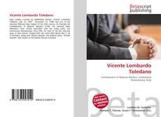 Bookcover of Vicente Lombardo Toledano