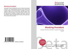 Bookcover of Working President