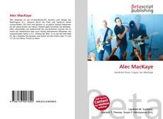 Alec MacKaye kitap kapağı