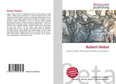 Capa do livro de Robert Nobel
