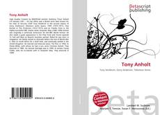 Tony Anholt kitap kapağı