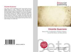 Bookcover of Vicente Guerrero