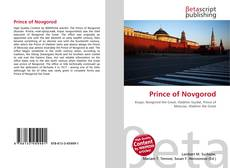 Couverture de Prince of Novgorod