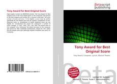Bookcover of Tony Award for Best Original Score