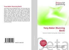 Bookcover of Tony Baker (Running Back)