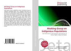 Couverture de Working Group on Indigenous Populations