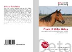Prince of Wales Stakes的封面