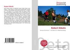 Bookcover of Robert Nikolic
