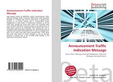 Bookcover of Announcement Traffic Indication Message