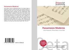 Passamezzo Moderno kitap kapağı