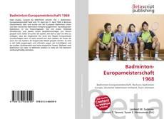 Bookcover of Badminton-Europameisterschaft 1968