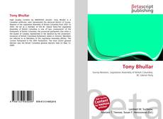 Capa do livro de Tony Bhullar