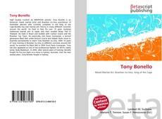 Bookcover of Tony Bonello