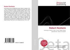 Portada del libro de Robert Nesheim