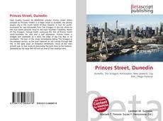 Buchcover von Princes Street, Dunedin