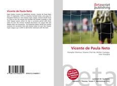 Capa do livro de Vicente de Paula Neto