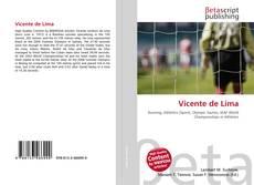 Capa do livro de Vicente de Lima