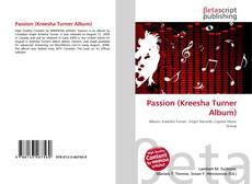 Passion (Kreesha Turner Album)的封面