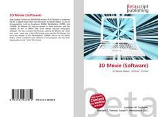 Capa do livro de 3D Movie (Software)