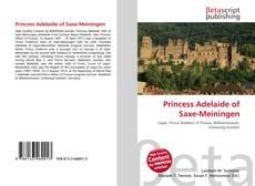Capa do livro de Princess Adelaide of Saxe-Meiningen