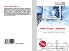 Bookcover of Audio Player (Software)