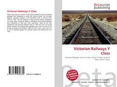 Portada del libro de Victorian Railways Y Class