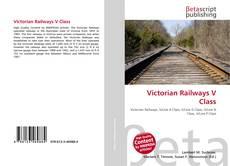 Portada del libro de Victorian Railways V Class