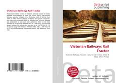 Portada del libro de Victorian Railways Rail Tractor