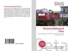 Portada del libro de Victorian Railways R Class