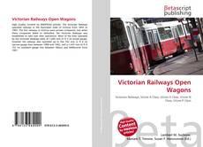 Portada del libro de Victorian Railways Open Wagons