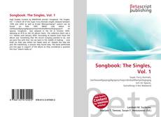 Couverture de Songbook: The Singles, Vol. 1