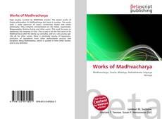 Capa do livro de Works of Madhvacharya